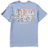 Margaritaville It's 5 O'Clock Somewhere License Plate Graphic Tee