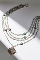 San Benito Opal Medallion Necklace by Virgin Saints & Angels at Free People