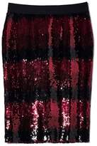 Vince Camuto Sequin Ombré-striped Skirt