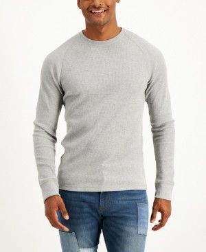 Sun + Stone Men's Raglan Thermal Long-Sleeve T-Shirt, Created for Macy's