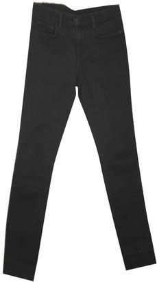 Proenza Schouler Black Cotton - elasthane Jeans