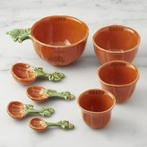 Williams-Sonoma Williams Sonoma Botanical Pumpkin Measuring Cups & Spoons Set