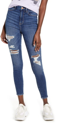 BP Ripped High Waist Curvy Jeans