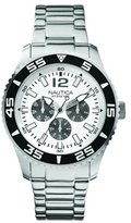 Nautica Men's Quartz Watch A15657G with Metal Strap