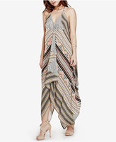 GUESS Keira Asymmetrical Maxi Dress