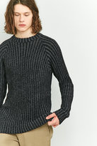 Cheap Monday Jolt Skinny Black Ribbed Jumper