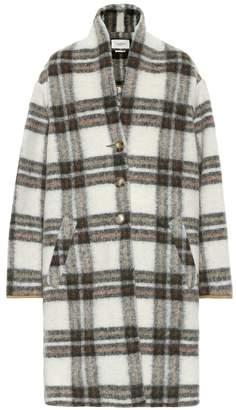 Isabel Marant Isabel Marant, ãToile Gabriel checked wool-blend coat