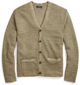 Polo Ralph Lauren Linen-Silk V-Neck Cardigan