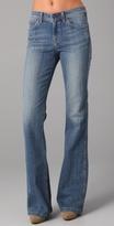 Hi Rise Flare Jeans