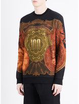 Givenchy Money-print Cotton-jersey Sweatshirt