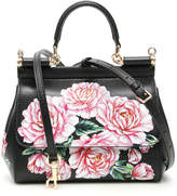 Dolce & Gabbana Peonies Small Sicily Bag