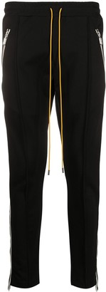 Rhude Side Stripe Slim-Fit Track Pants