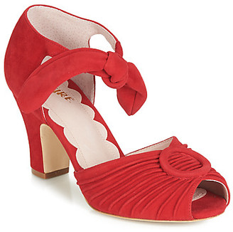Miss L Fire Miss L'fire Miss L'Fire LORETTA women's Sandals in Red