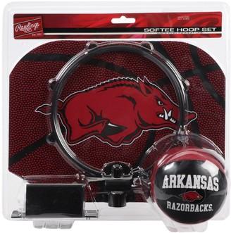 Rawlings Sports Accessories Arkansas Razorbacks Softee Hoop and Ball Set