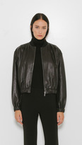 Helmut Lang Cropped Leather
