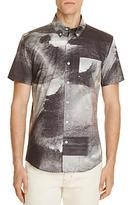Saturdays NYC Esquina Process Print Slim Fit Button-Down Shirt