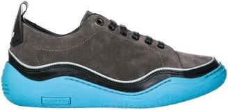 Lanvin Waved Sole Sneakers