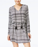 Jessica Simpson Arielle Printed Peasant Dress
