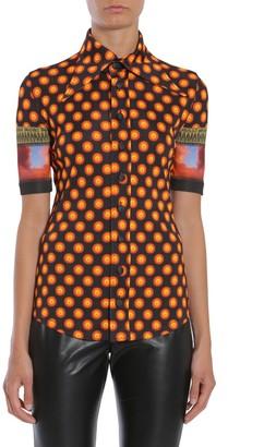 Givenchy Printed Polka Dot Shirt