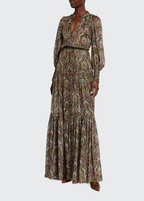 Veronica Beard Monali Paisley Maxi Dress