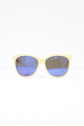 Cara Cream Square Sunglasses