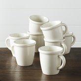 Crate & Barrel Dinette Mugs, Set of 8