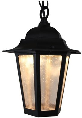 Flannigan 1-Light Outdoor Hanging Lantern Charlton Home Finish: Black, Bulb Type: 60W Standard Base
