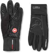 Castelli Estremo Windstopper Jersey Cycling Gloves - Black
