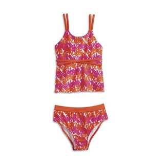 AMERICAN GIRL - Bright and Splashy Tankini for Girls - Size: 14 (More Sizes Available)