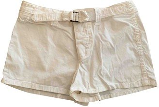 See by Chloe White Cotton Shorts for Women