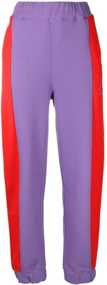 Ganni Panelled Logo Track Trousers