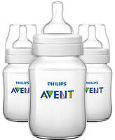 Philips Classic Baby Bottle, Pack of 3, 260ml
