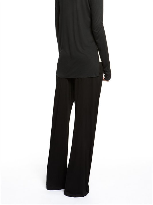 DKNY DKNYpure Pull On Wide Leg Pant