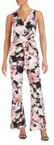 Yumi Kim Floral Belted Jumpsuit