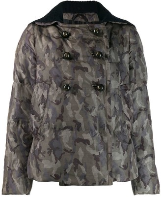 Prada Pre Owned '2000s Camouflage Jacket