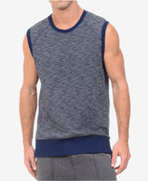 2xist Men's Side-Zip Marled Muscle Shirt