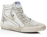 Golden Goose Deluxe Brand Men's Slide Leather High-Top Sneakers