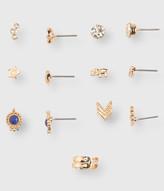 Triple Arrow Stud Earring 6-Pack