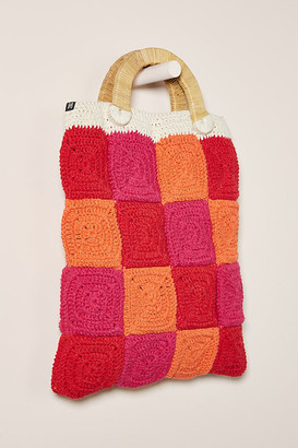 Nannacay Alana Tote Bag By in Pink Size ALL
