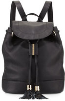 See by Chloe Vicki Leather Backpack, Black