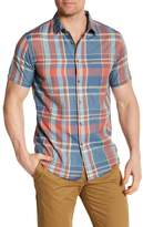 Billabong Short Sleeve Plaid Print Shirt