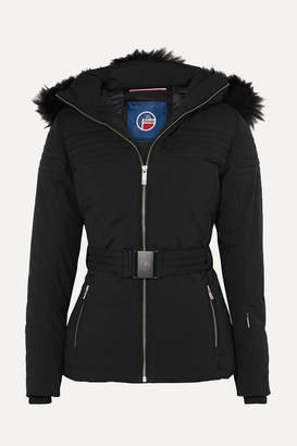 Fusalp - Najy Hooded Quilted Ski Jacket - Black