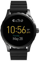 Fossil Q Marshal Silicone Strap Touch Screen Smart Watch