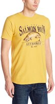 G.H. Bass Men's Short Sleeve Salmon Run Graphic Tee