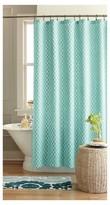 Threshold Geo Shower Curtain - Green/Blue