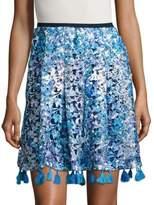 T Tahari Laced Nicole Skirt