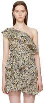 Etoile Isabel Marant Beige Thom Single-Shoulder Tank Top