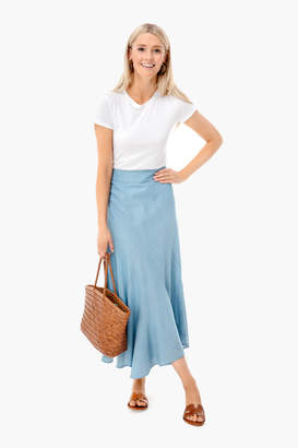 Tuckernuck Chambray Swing Skirt