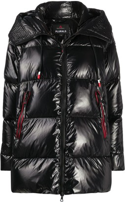 Peuterey Quilted Hooded Coat