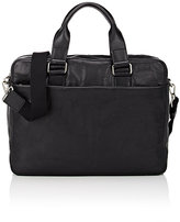 Barneys New York MEN'S TWO-COMPARTMENT BRIEFCASE-BLACK